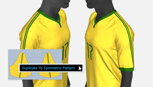Duplicate Graphics to Symmetric Patterns