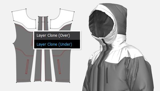 Layer Clone (Under)