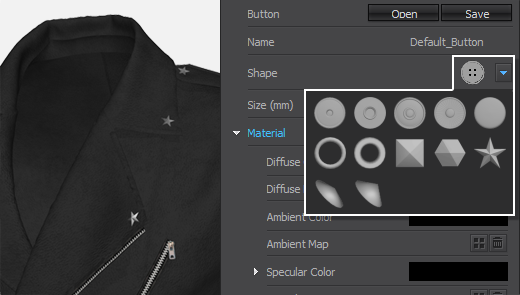 Added new Button Presets