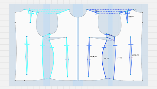Symmetric Sewing