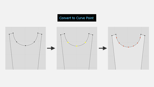 Convert Multiple Segment Points to Curve Points