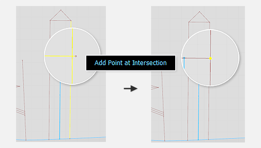 Add Point to Intersection